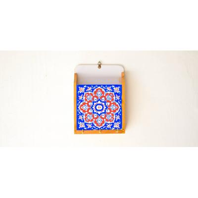 Ceramic & Wood Key Holder