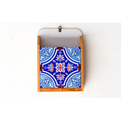 Key Holder Blue & Red