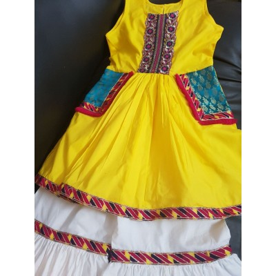 Trendy frock for girls eleven year to 12 years KD 004