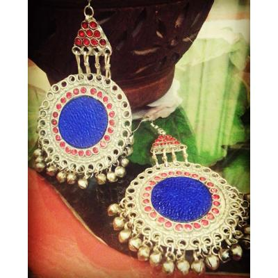 ethnic vintage earrings