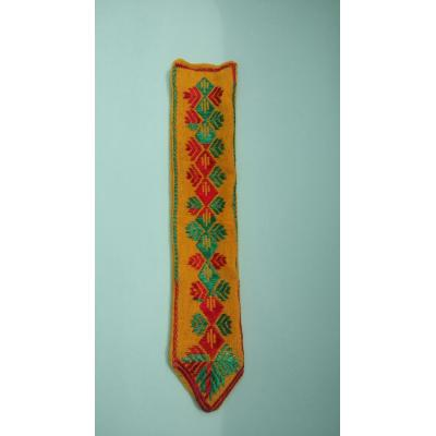 door bell made of phulkari embroidery