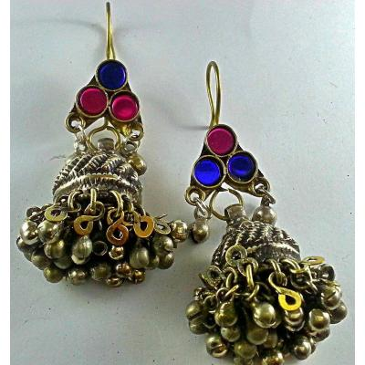 afghan antique jhumkas