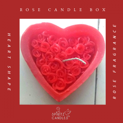 Rose Candle Box