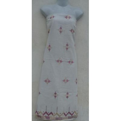 unstiched phulkari embroidered kurta