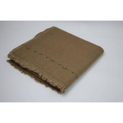 Bright Camel Color Pashmina Shawl for Men with Nice Border