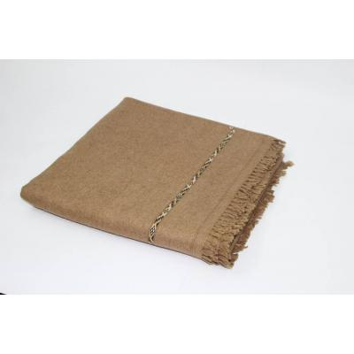Camel Color Pashmina Shawl for Men