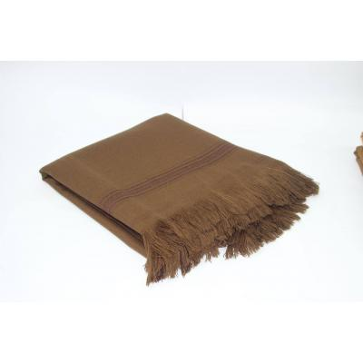 Brown Plain Pashmina Shawl for Men