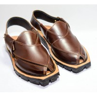 brown Nourozi Chappal