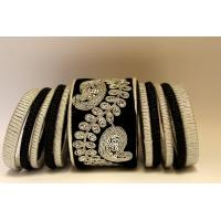 Bangles Set (black & Sliver)