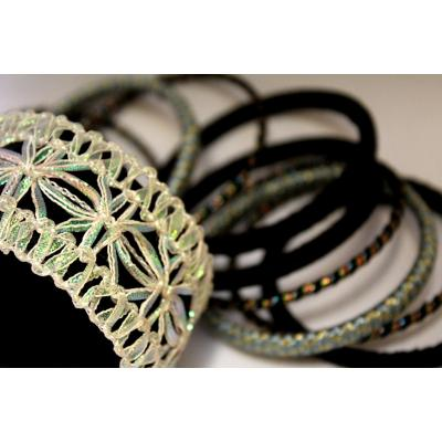 Bangles Set (black & Multi Colors)