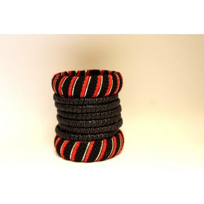Bangles Set (black & Red)