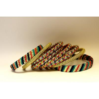 Bangles Multi Color Gota Work