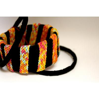 Bangles Set Black & Orange