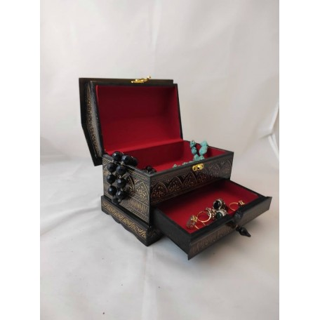 Multi Cabinet Lacquer Art Jewelry Box