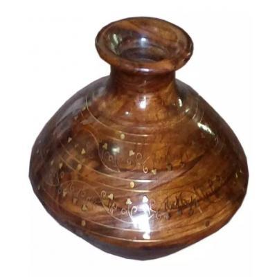 Beautiful Wooden Water Pot
