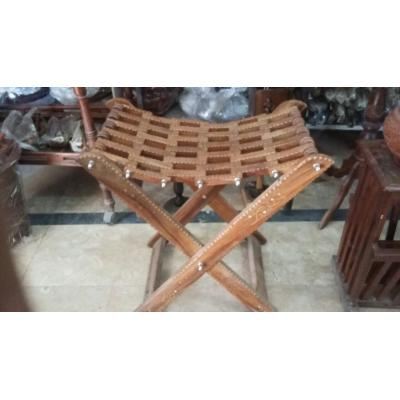 Nice Looking Wooden Foldable Stool