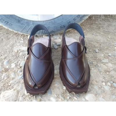 Brown Leather Original Norozi Handmade Chappal