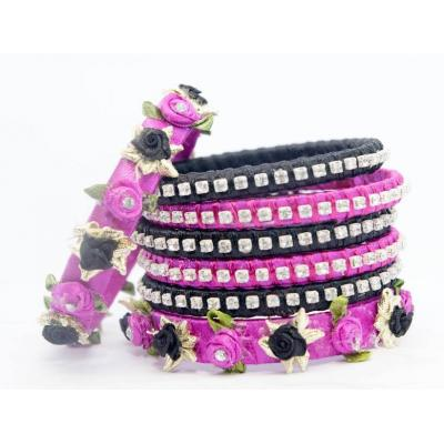 Bangle Set Purple