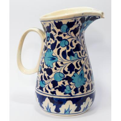 Blue Pottery Water Jug
