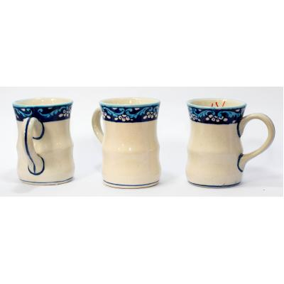 Blue Pottery Tea Mug