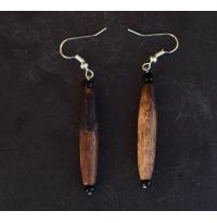 Long Camel Bone Earrings