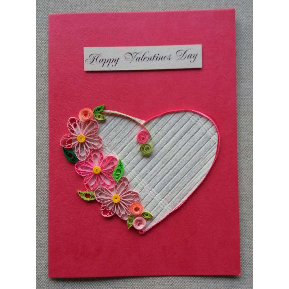 Beautiful handmade greeting cards for valentines day m4hsunfo