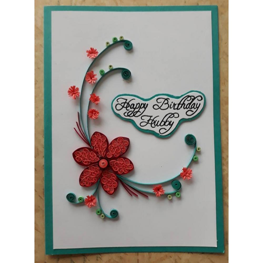 Magnificent Beautiful Handmade Birthday Card For Husband Funny Birthday Cards Online Fluifree Goldxyz