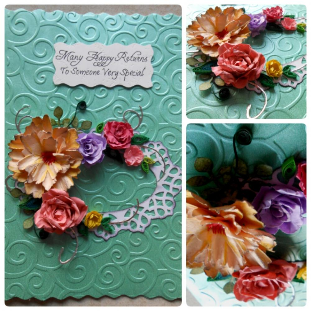 beautiful handmade birthday card for someone special