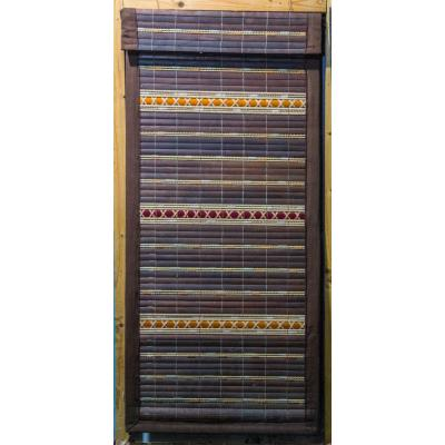 Hand-Weaved Wood Stick Curtain