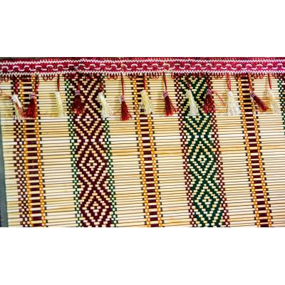 Hand-Weaved Roll Stick Chick Curtain