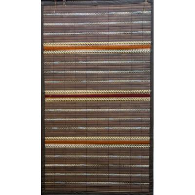 Hand-Weaved Wood Curtain Double Watt