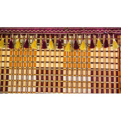 Wooden Stick Chick Curtain