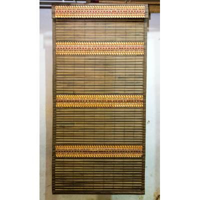 Hand-Weaved Wood Curtain Washable