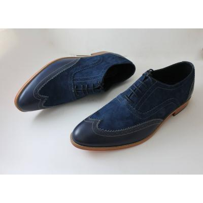 Blue men classic shoe