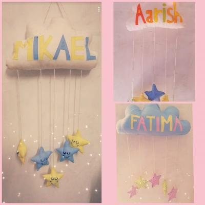 customized cloud hanging