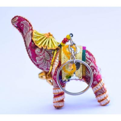 Traditional Elephant Handmade Key Chains