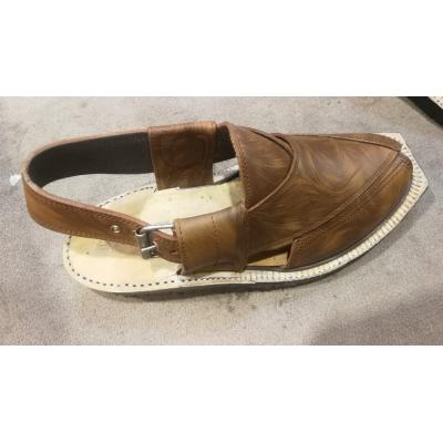 Brown Shade Norozi Chappal