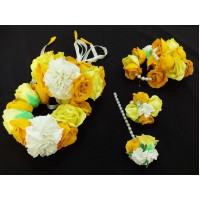 Handmade Floral Jewelry Set