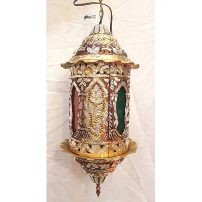 Lamp made of copper material