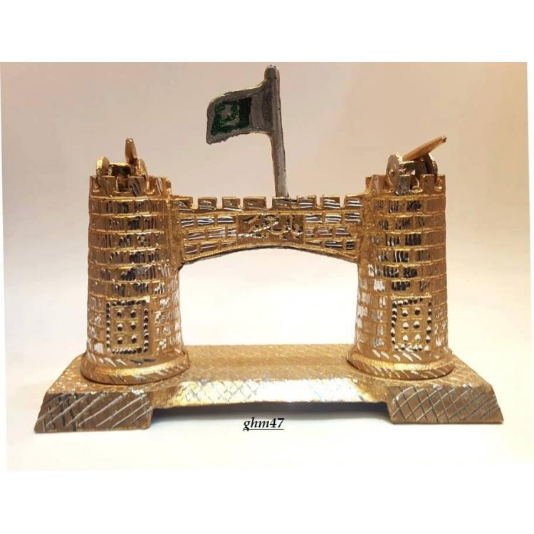 Bab e khyber made of copper