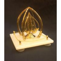 Allah written on brass four sided, placed on onyx plate