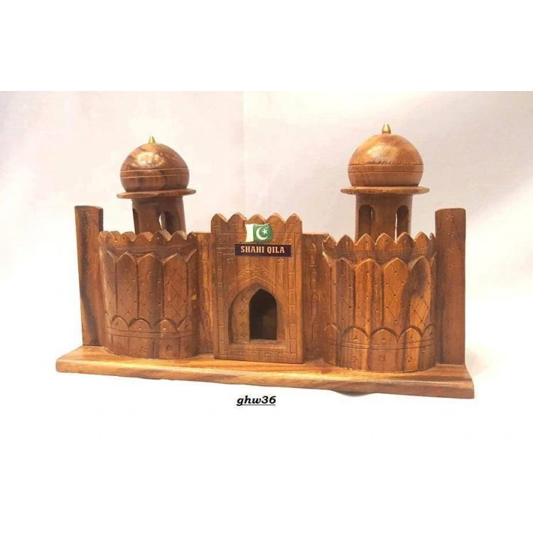 Shahi Qila hand carved on sheesham wood
