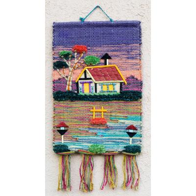 Jute Art Wall Hanging