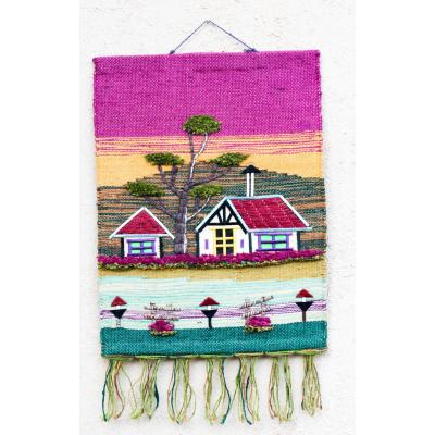 Exclusive jute Art designer wall hanging