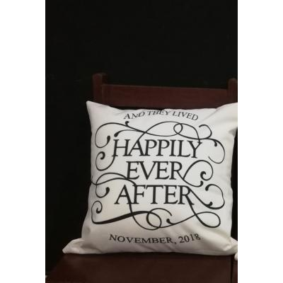Happily Ever After Customized Cushion per piece