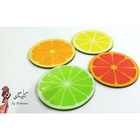 Lemon Printed Coaster Set of 4