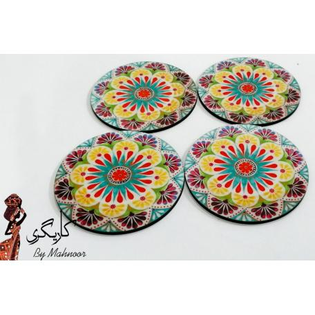 Beautiful Round Coaster set of 4