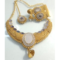 Necklace Set with Mathapati and Earrings