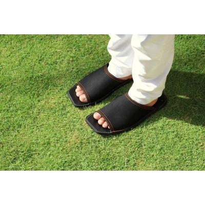 Black chappal for men
