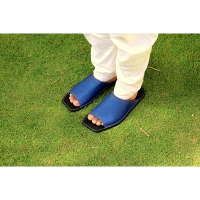 Blue chappal for men